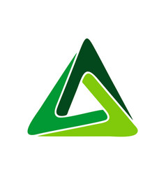 triangle logo concept icon vector image
