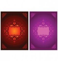 Valentines frames vector