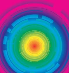 digital lock vector image