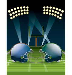 American Football Championship vector image vector image