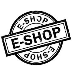E-shop rubber stamp vector