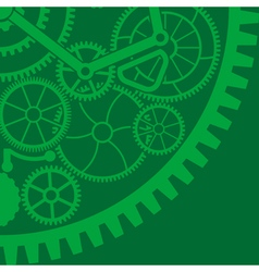 gear background vector image