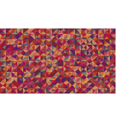 Geometrical colorful gradient mosaic triangle vector