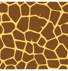 Seamless giraffe pattern vector