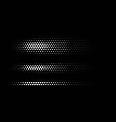 straight dotted spots halftone circle texture vector image