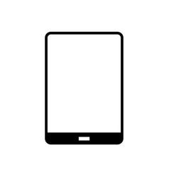 Tablet glyph icon vector