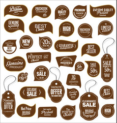 modern sale stickers collection 10 vector image vector image