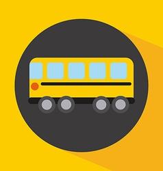 bus design vector image