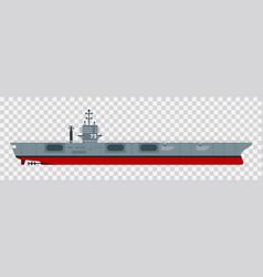 A variety aircraft carrier vector