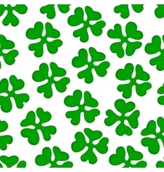 background green clover vector image