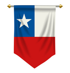 Chile pennant vector