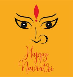 durga poster designs for navaratri festival vector image