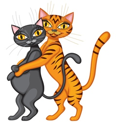 Family cat vector