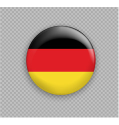 Flag of germany the right colors and proportions vector