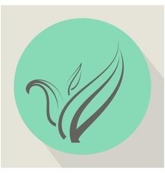 Flat Plant Icon vector