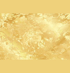 Golden marble texture background for card vector