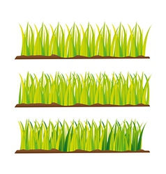 Grass design elements vector