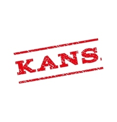 Kansas Watermark Stamp vector