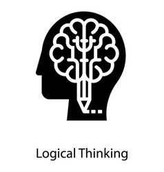 Logical brain thinking vector
