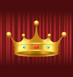 queen gorden crown royal image vector image