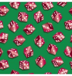 Red dice wallpaper vector