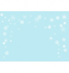 snowflakes illustration vector image