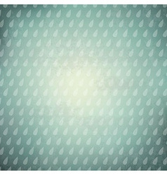 Vintage Background With Rain Drops vector image vector image