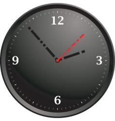 tick tock modern vector image