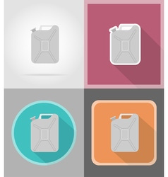 power and energy flat icons 01 vector image