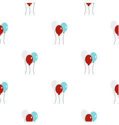 Balloons pattern seamless vector