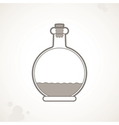 empty bottle vector image