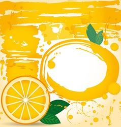 Juice fruit drops liquid orange element design vector