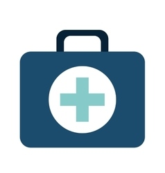 medical kit isolated icon design vector image