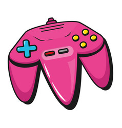 retro video game cartoon vector image