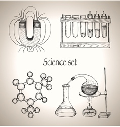 Science set vector
