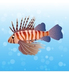 Volitan Lionfish vector image