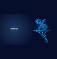 Abstract best discount concept vector