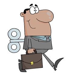 African American Businessman vector image