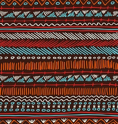 Boho seamless pattern tribal vintage background vector