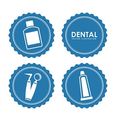 dental design vector image