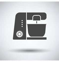 Kitchen food processor icon vector image
