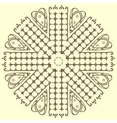 Mandala Card 5 vector