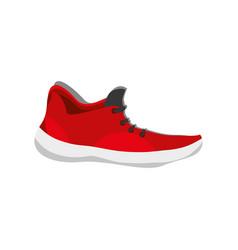 Running shoe footwear vector