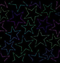 seamless multicolored festive background vector image