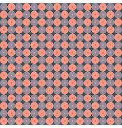 Seamless ornamental geometric pattern vector image