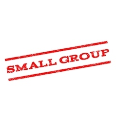 Small Group Watermark Stamp vector