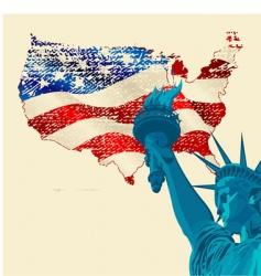 freedom vector image