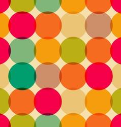 Circles pattern vector image