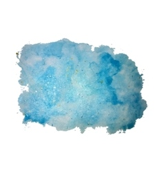 Watercolor background texture vector image