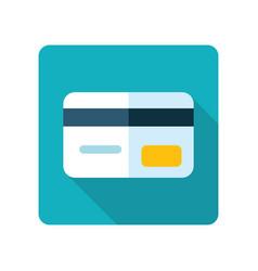 credit card icon vector image